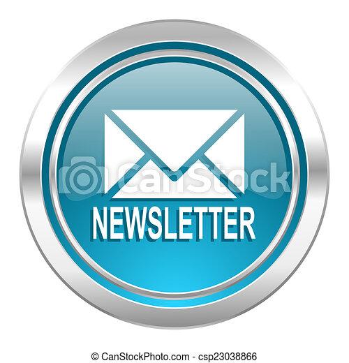 newsletter icon - csp23038866