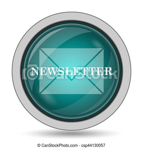 Newsletter icon - csp44130057