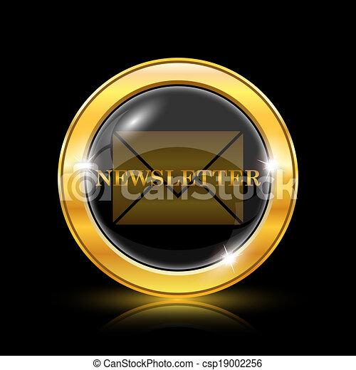 newsletter, ikona - csp19002256