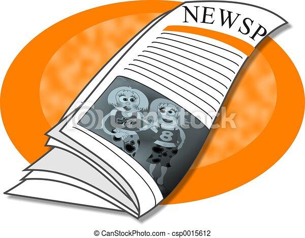 Newspaper - csp0015612