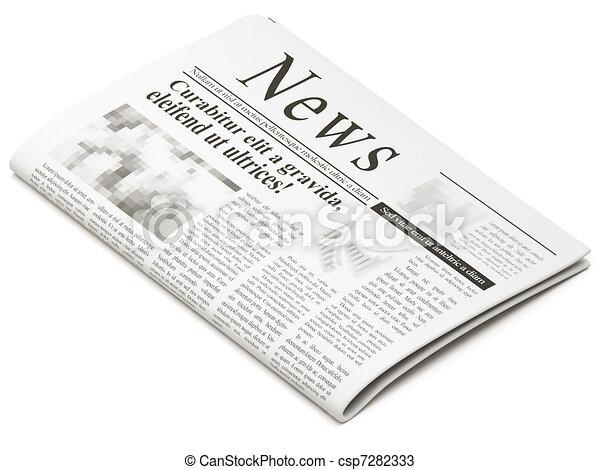 Newspaper - csp7282333