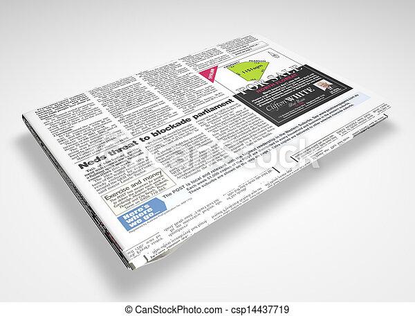 Newspaper - csp14437719