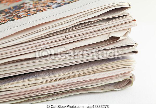 Newspaper - csp18338278