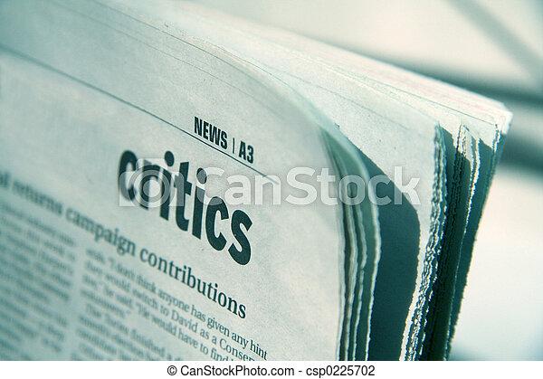 newspaper - csp0225702