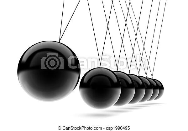 Newton\'s Cradle - csp1990495