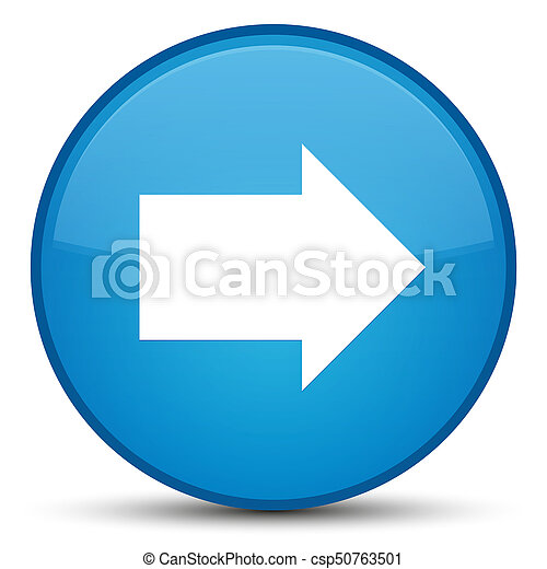 Next arrow icon special cyan blue round button - csp50763501