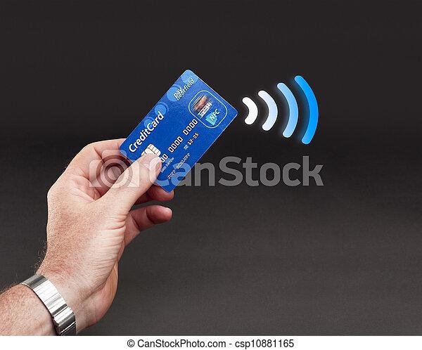 NFC - Contactless payment - csp10881165