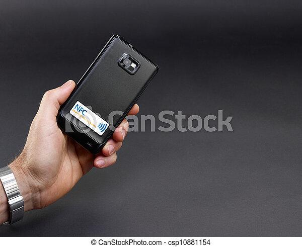 NFC - Near field communication / mobile payment - csp10881154