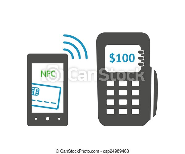 nfc, pojęcie, technologia - csp24989463