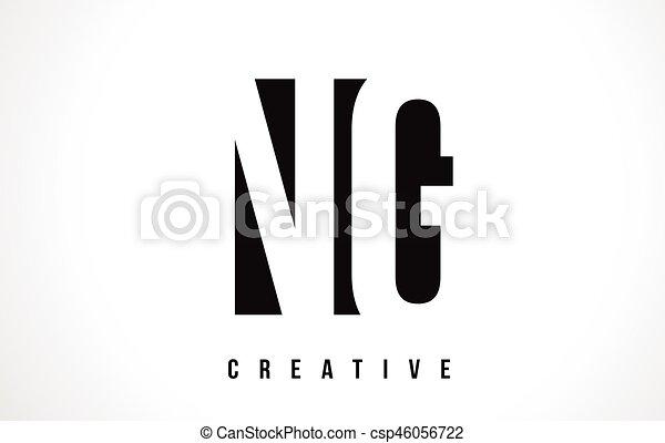 Ng n g white letter logo design with black square. Ng n g white ...