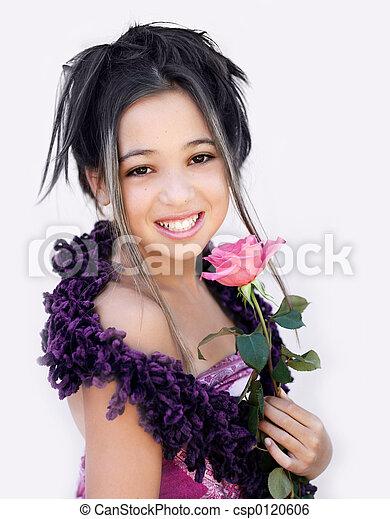 Chica asiática - csp0120606