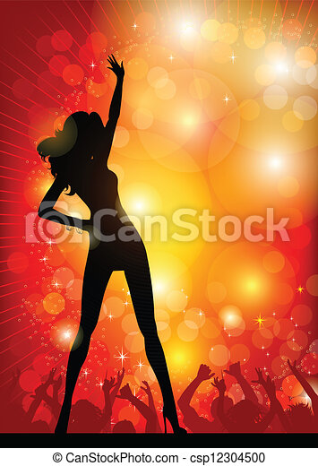 Bailarina - csp12304500