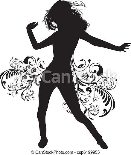 Bailarina - csp6199955