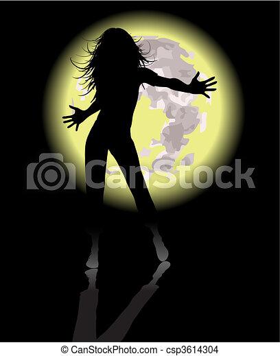 Bailarina - csp3614304