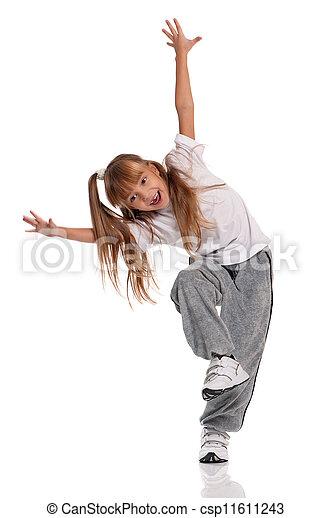 Pequeña bailarina - csp11611243