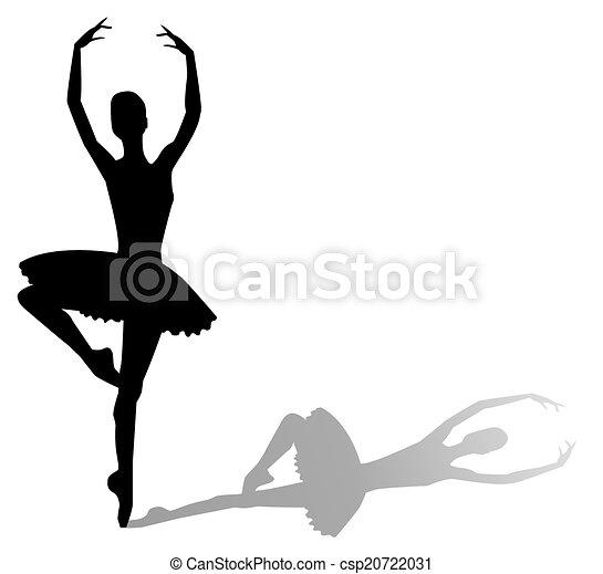 Bailarina - csp20722031