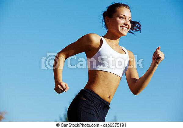 Chica deportiva - csp6375191