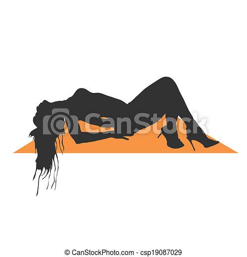 Ilustración de vectores de chicas - csp19087029