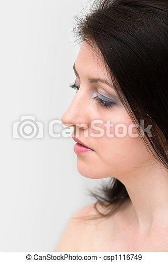 Chica triste - csp1116749