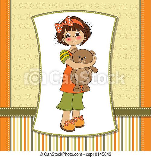 La joven va a dormir - csp10145843