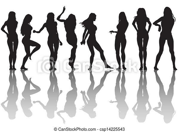Chicas delgadas - csp14225543