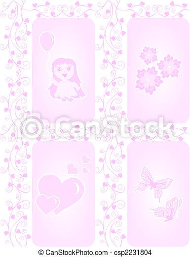 Textura para chicas - csp2231804