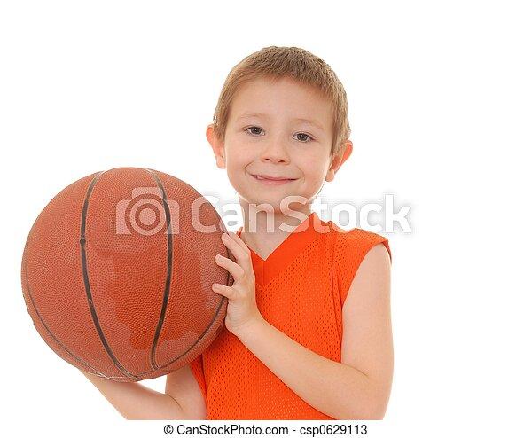 Basketball Boy 3 - csp0629113