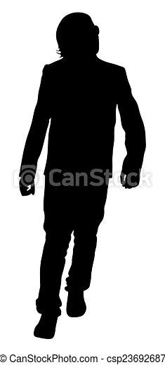 Un joven andante - csp23692687