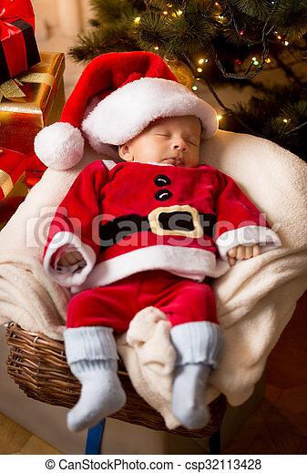 Canasta De Recien Nacido.Nino Claus Sueno Bebe Recien Nacido Disfraz Santa Cesta