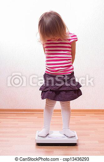 niño, escalas - csp13436293