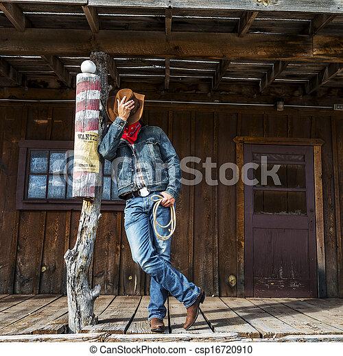 Espíritu de chico de vaca - csp16720910