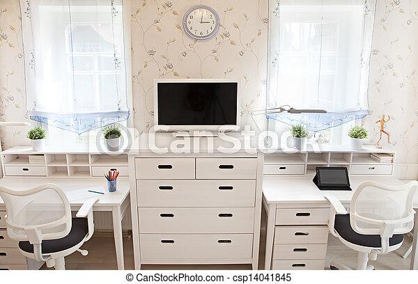 lnterior del cuarto de los niños - csp14041845