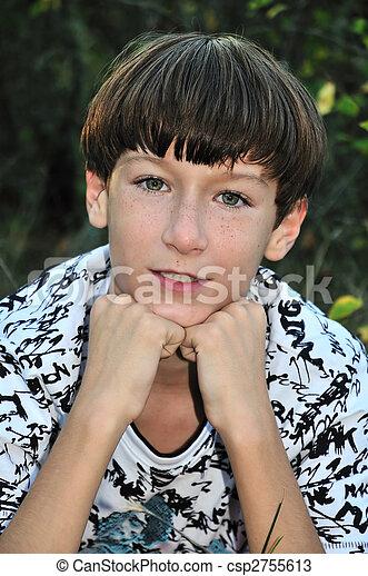niño, pecoso - csp2755613