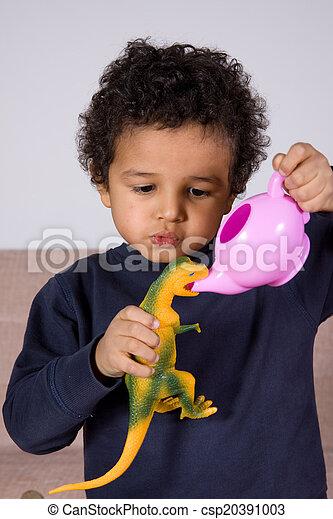 niños - csp20391003