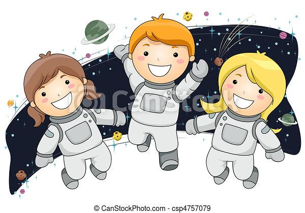 Dibujo De Astronauta Para Nios dibujo astronauta para niños Buscar ...