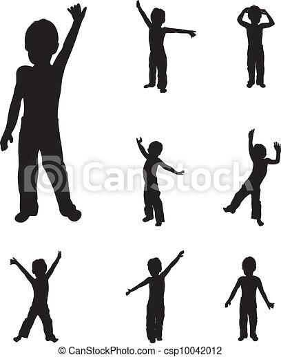 Niños bailando - csp10042012