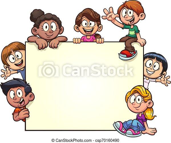 Pancarta infantil - csp70160490