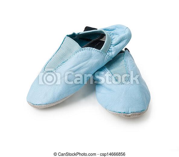 Zapatos de gimnasia infantil - csp14666856