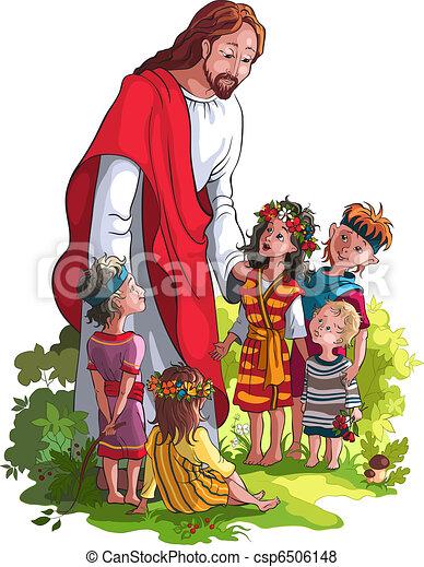 niños, jesús - csp6506148