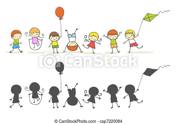 Niños jugando - csp7220084