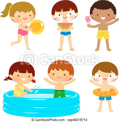Niños Playa O Piscina Niños O Joven Trajes De Baño Playa