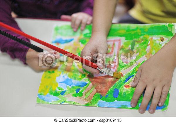 Niños de preescolar - csp8109115