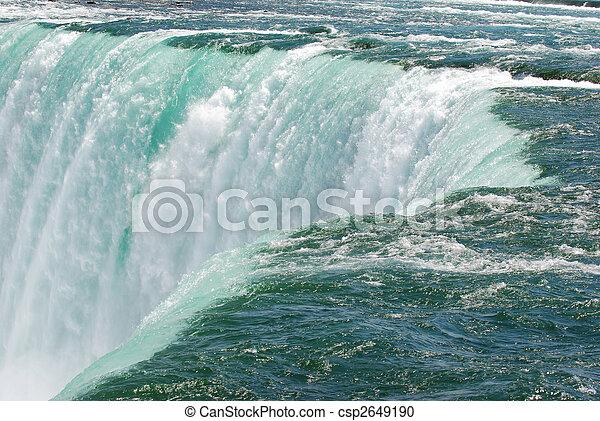 niagara, chutes d'eau - csp2649190