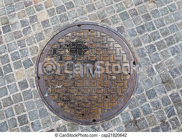 Niagara Falls Manhole Cover