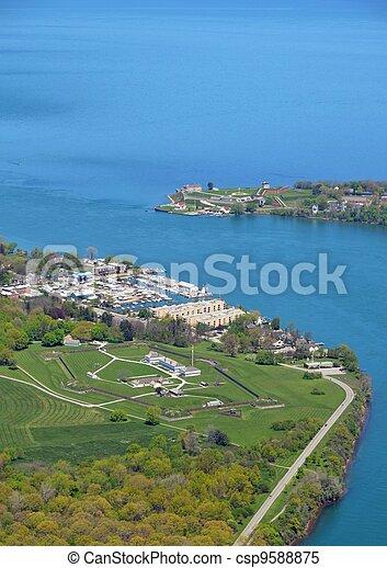 Niagara Forts aerial - csp9588875