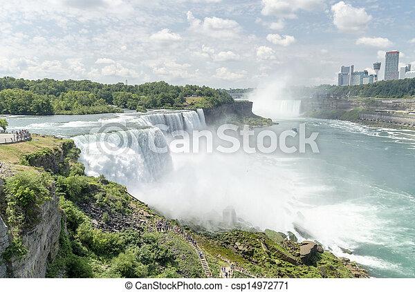 niagara vattenfallen - csp14972771