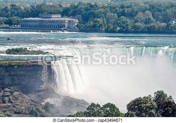 niagara vattenfallen - csp43494871