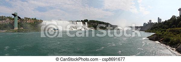 niagara vattenfallen - csp8691677