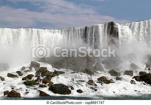 niagara vattenfallen - csp8691747