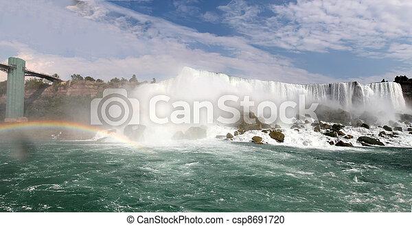niagara vattenfallen - csp8691720